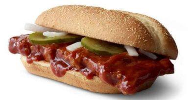 McRib Returns to McDonald's Nationwide